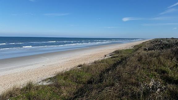 Beach view south small