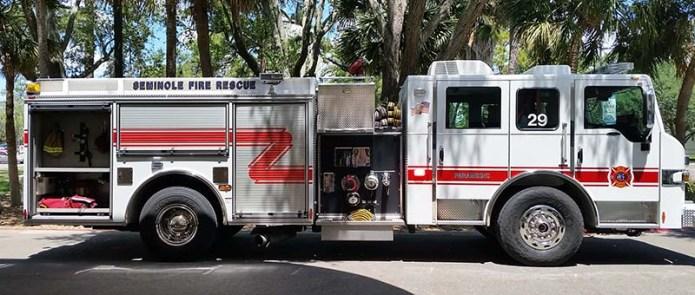 VA fire truck small