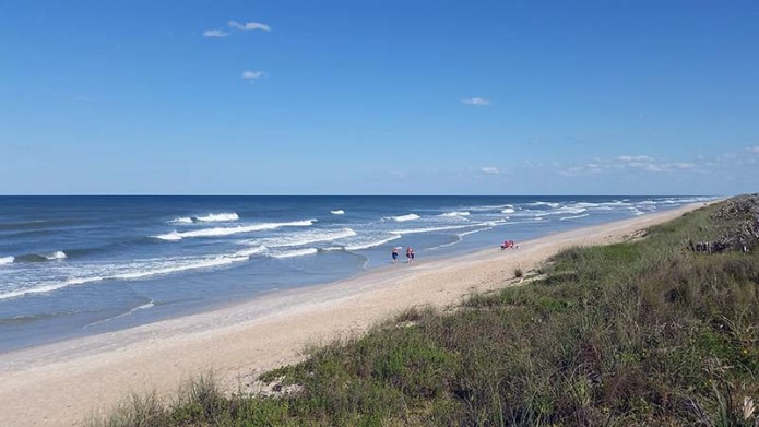 Canaveral National Seashore scene
