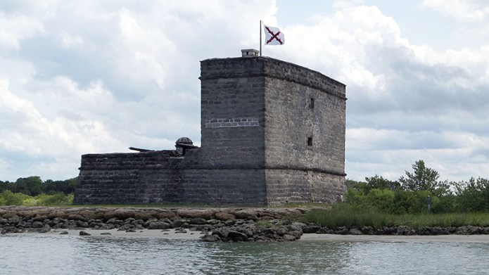 Fort from water