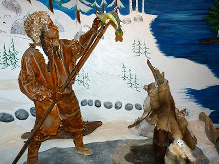 Indian spear fisherman 2