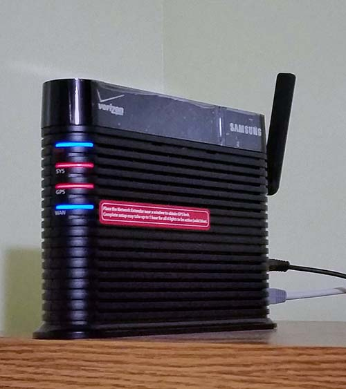 Verizon Tech Support Said That I Probably Needed An External Antenna, And  Quoted Me A Price Of $79. After Paying $249 For The Network Extender That  They ...