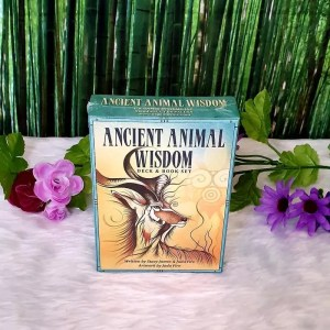 Ancient Animal Wisdom Deck and Book Set