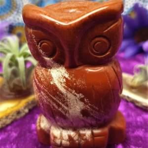 Red Jasper Owl