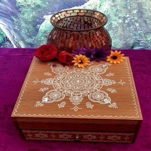 Mandala Jewellery box