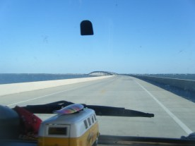 The Loooong Bridge of Toll Rd 300 to St George Island SP