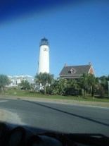 Historic Lighthouse of St. George Island Greets You Upon Entrance from 3 Mile Bridge