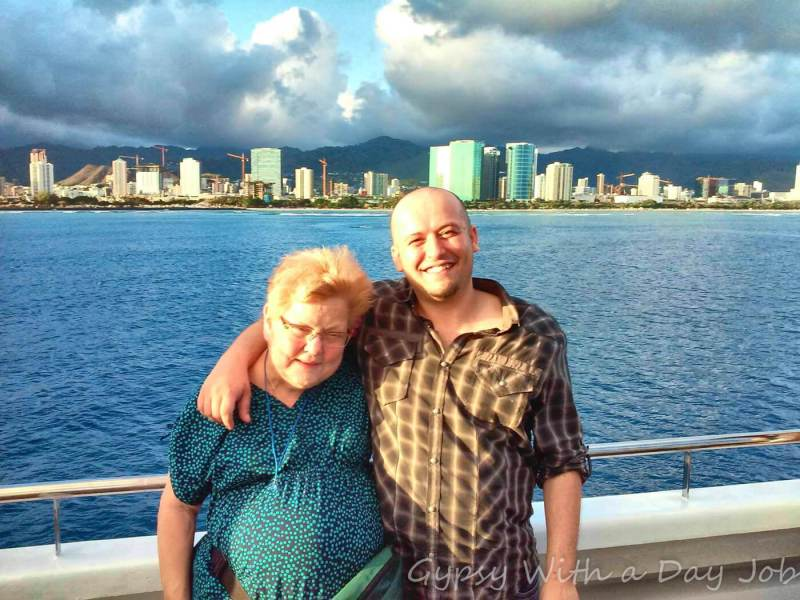 A visit to Oahu, Hawaii, to help a friend see out a dying wish.