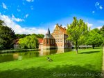 Hulshoff Castle and Gardens, in Muensterland, Germany, a stunning tour stop, or a tranquil day trip.