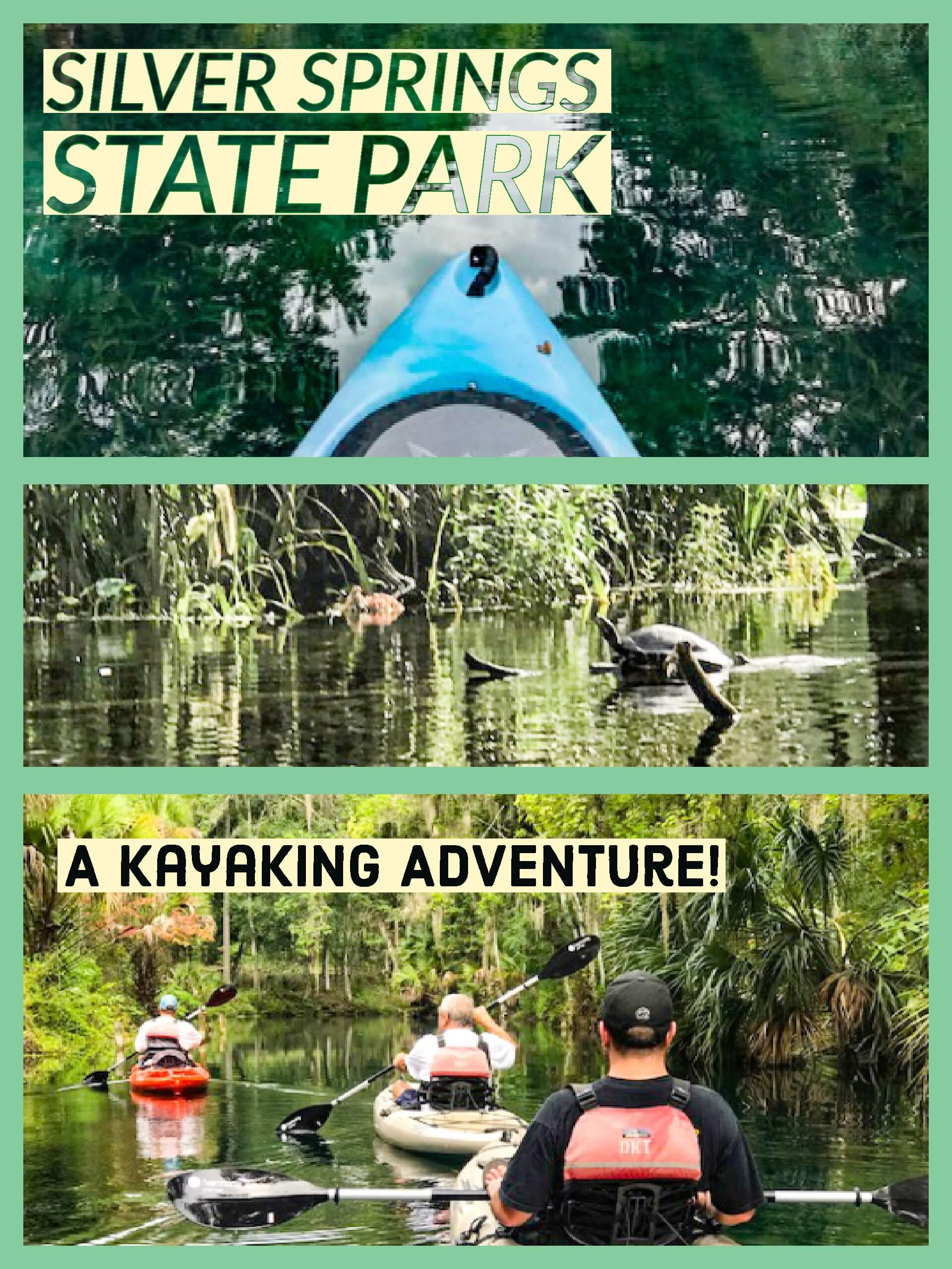 Silver Springs State Park, a Kayaking Adventure.