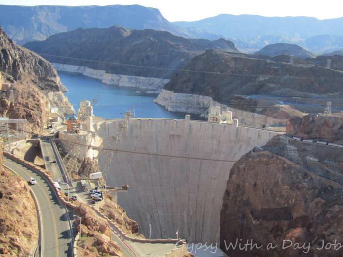 Las Vegas 101 things to Do, See from the Sky, the Hoover Dam Tour.