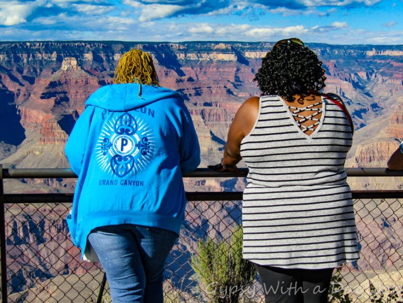 Marching forward into 2018, Grand Canyon Day Trip, Mather Point.