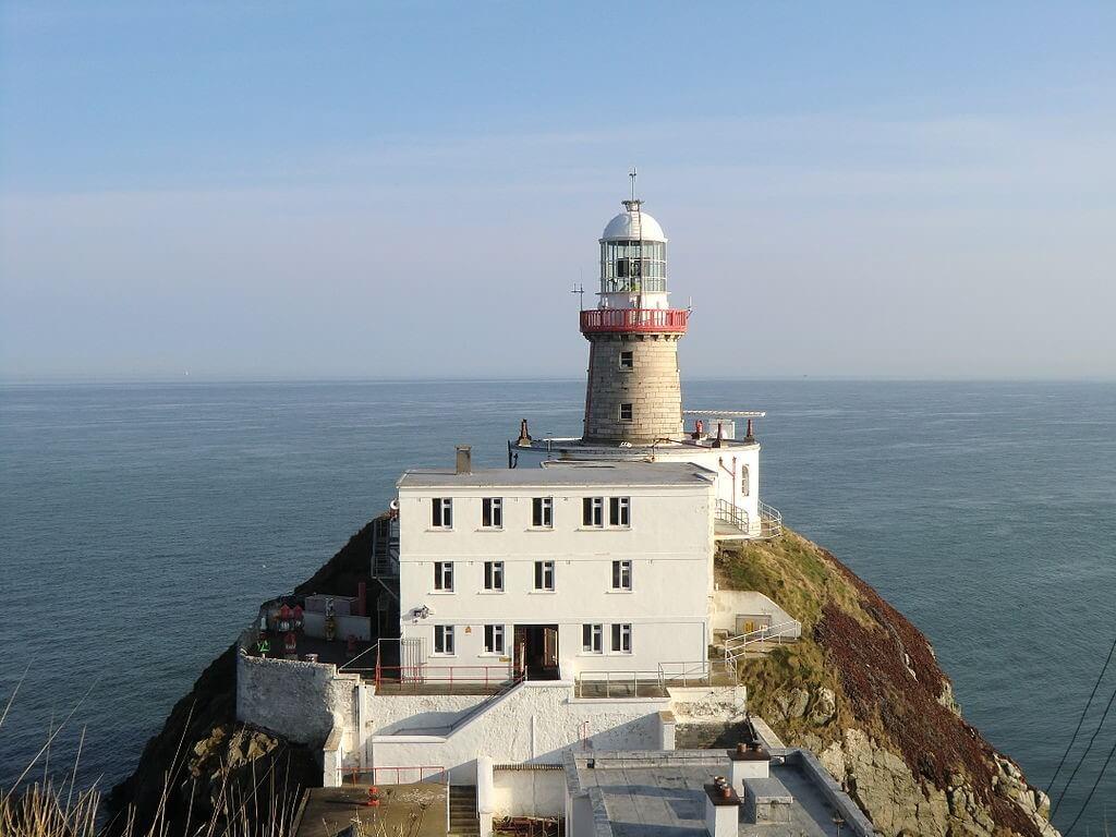 Exploring Irish countryside scenes, Baily lighthouse.