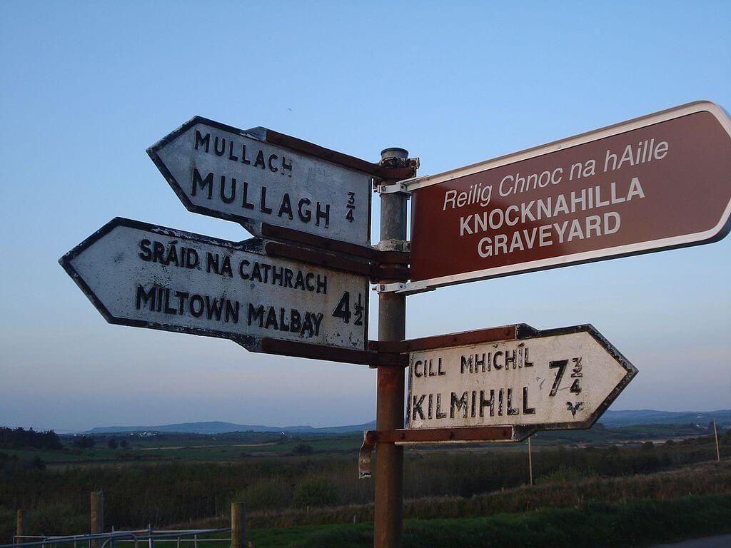 Exploring Irish countryside scenes.