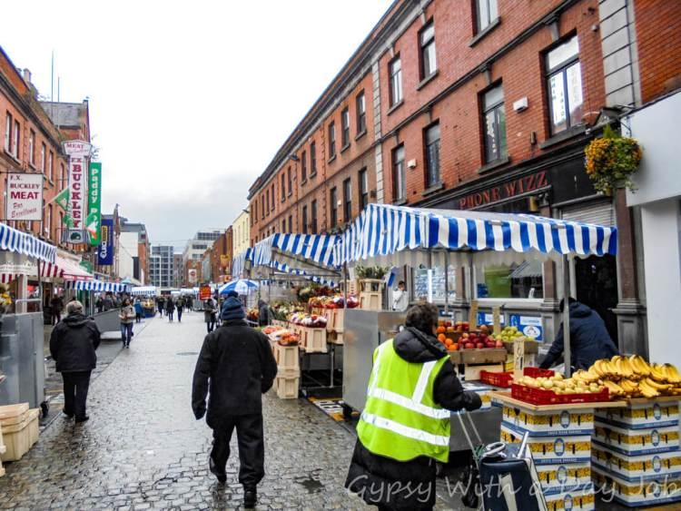 Dublin Street Market, part of our Perfect Ireland Itinerary, Ireland Highlights.