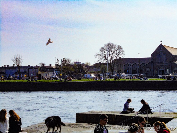 The River Corrib, one of our Ireland Highlights on the Ireland route that could be a perfect Ireland Itinerary.