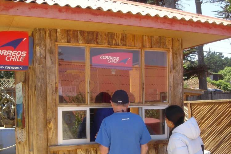 Delivering Love Letters Around the World, Chile, Isla Negra.