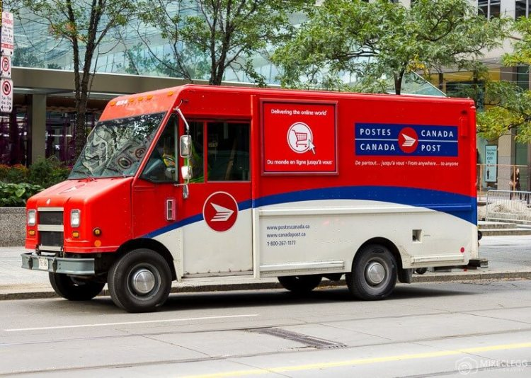 Delivering love letters, workers around the world, canada post, toronto.