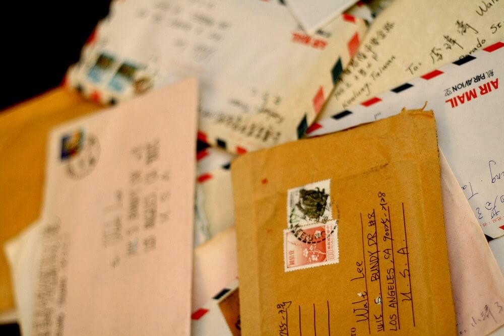 Delivering Love Letters Around World