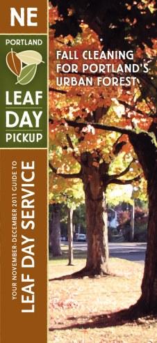 Portland Leaf Day mailer (Gyroscope Creative)