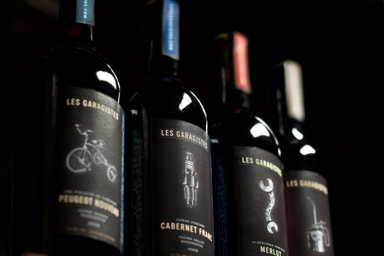 Les Garagistes Product Line Packaging by Matt Giraud