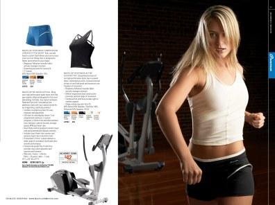 Nautilus Apparel Catalog: Women's Indoor (Creative Director: Matt Giraud)
