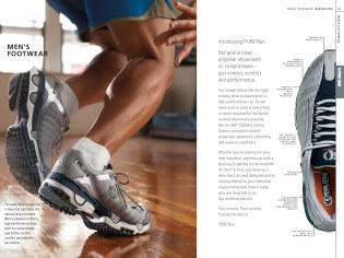 Nautilus Apparel Catalog: Men's Footwear (Creative Director: Matt Giraud)