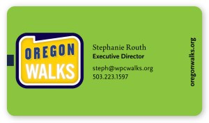 Oregon Walks Stationery (Matt Giraud, Creative Director, Gyroscope Creative
