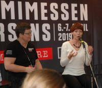Interview med Nina von Staffeldt på Bogforum, 2018