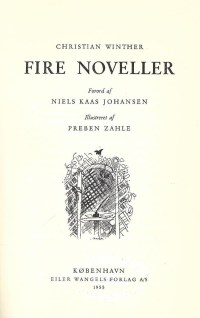 Fire noveller af Christian Winther