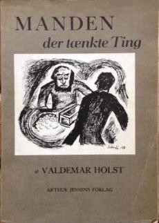 Manden der tænkte ting illustreret af Hans Scherfig