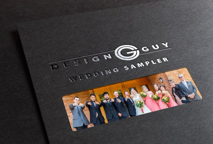 Wedding sampler book