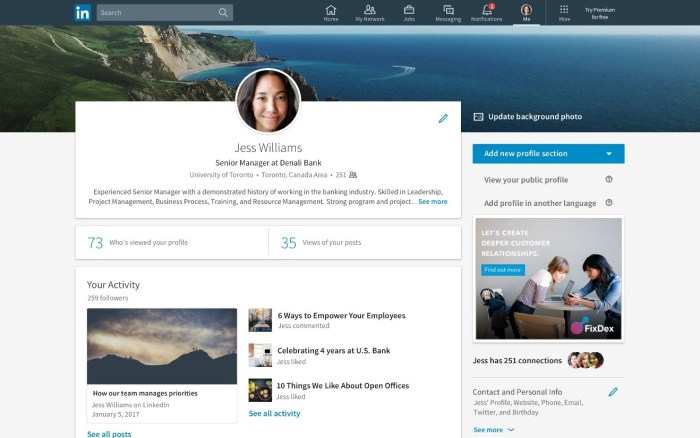 The LinkedIn redesign includes streamlined navigation, smarter messaging, and improved feeds.