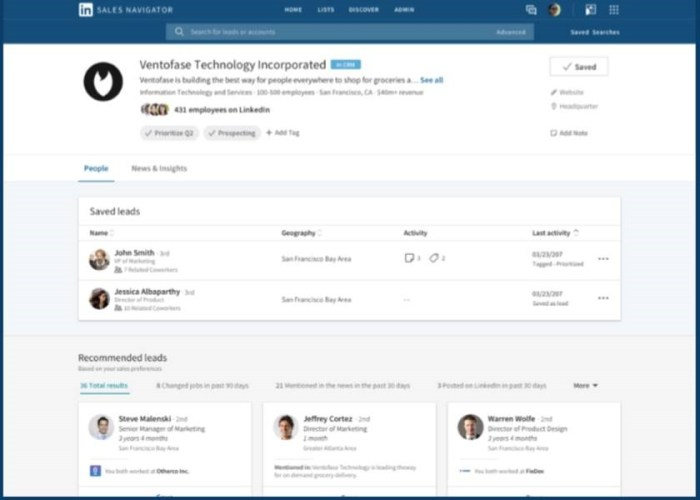 LinkedIn redesigned its Account Page display as part of their Q1 2018 release.