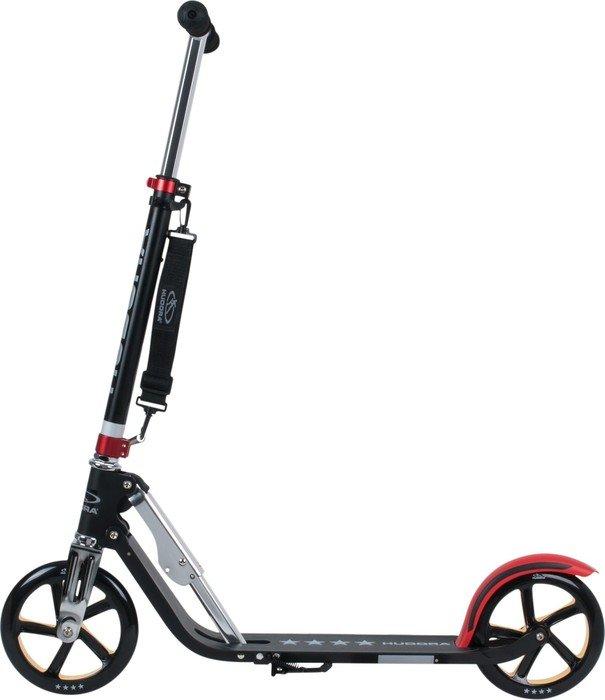 Hudora Big Wheel RX-Pro 205 Scooter black/red/gold (14759 ...