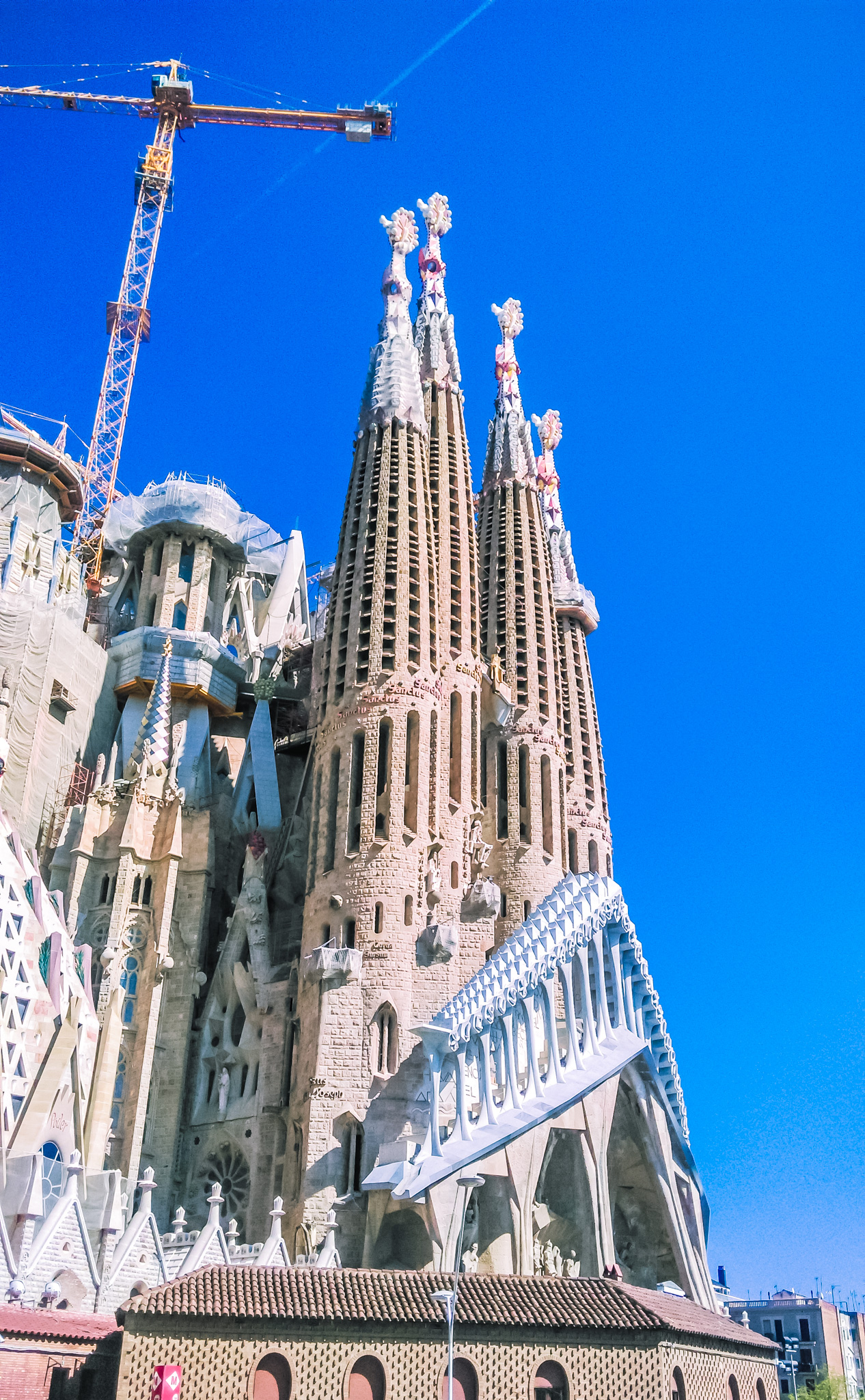 Sagrada Família - outside