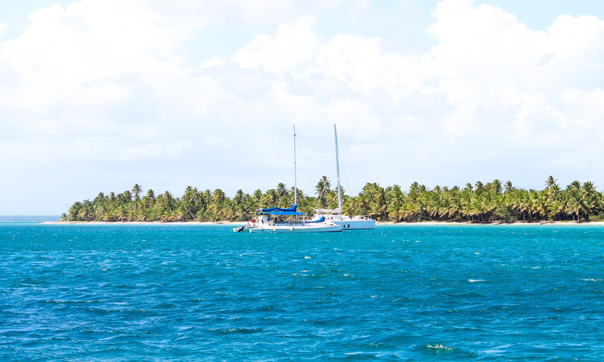 Catamarans in the Caribbean Sea