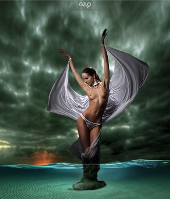 Art Work: Gonzalo Villar - Photo: Михаил График - Model : Kristina Yakimova