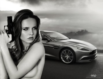 Model:Kristina Yakimova Photo of model: Svetlana Kondratovich Art work: Gonzalo Villar