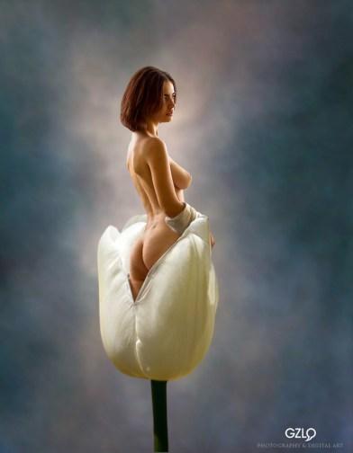 Art Work : Gonzalo Villar - Model: Lidia Savoderova - Photo model: Dmitry Laudin