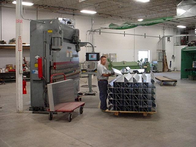 sheet metal fabrication brake bending denver