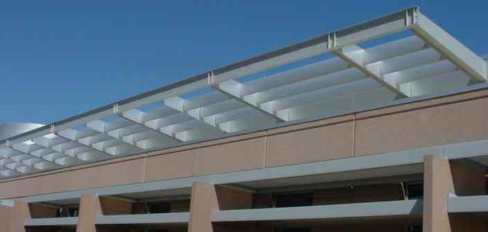 Large Aluminum Sunshade