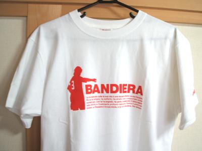マルディーニの引退記念のTシャツ