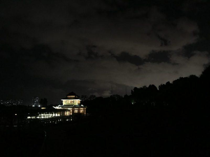 福州大学福友阁夜景