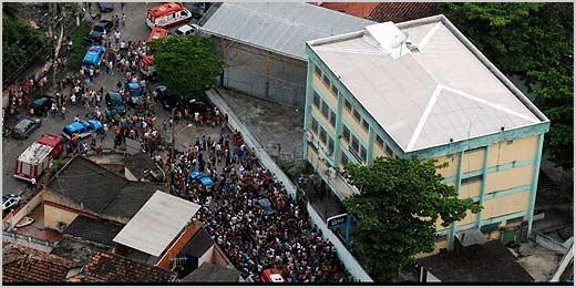 Homem invade escola pública e dispara contra alunos, no Rio de Janeiro