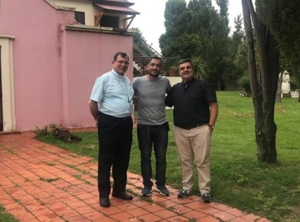 Juan Patricio Mussi visitó a los obispos de la Diócesis