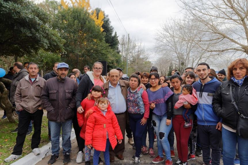 Una plaza ahora lleva el nombre de una heroica vecina de Berazategui