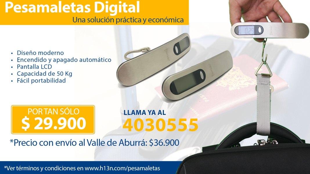 venta de pesamaletas en Medellín