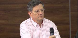 El Secretario de Gobierno de Antioquia, Luis Fernando Suárez