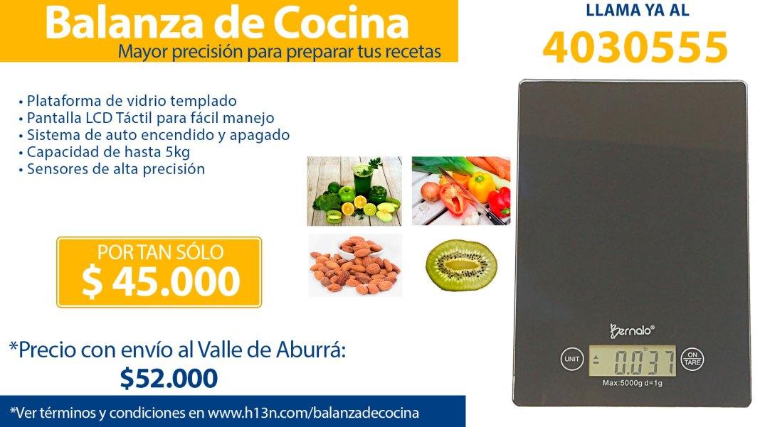 Venta de balanza de cocina en Medellín